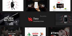 Buy NumberTwo - Responsive Creative Multipurpose Joomla Template by ThemeLan on ThemeForest. NumberTwo is a Creative Multipurpose Joomla Template. NumberTwo has 7 different Homepage layouts, Portfolio layouts . Joomla Templates, Best Templates, Joomla Themes, Drupal, Themes Free, 404 Page, Portfolio Layout, Page Layout