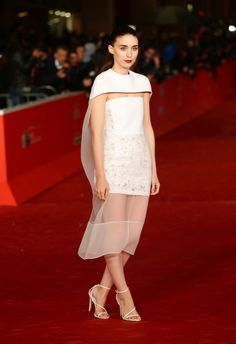 Rooney Mara - 'Her' Premieres in Rome. This dress is my shit!