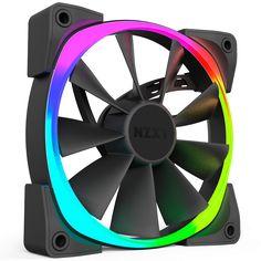 Aer RGB Digitally Controlled RGB LED Fans - NZXT