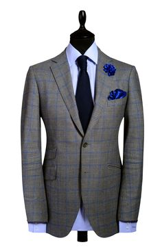"Autographed Styles Signature ""A"" range Window pane 2 piece suit"