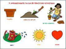 ΦΥΤΕΥΟΥΜΕ ΛΟΥΛΟΥΔΙΑ για το νηπιαγωγειο Early Childhood Education, Spring Summer, Teacher, School, Google, Pictures, Professor, Photos, Early Education