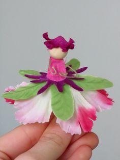 Flower Fairies tutorial.  Cute!