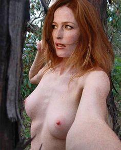 Gillian anderson nackt fack