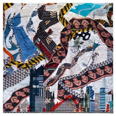 #MKGWatchlist: For today's #textiletuesday, we are featuring South African artist, Peter Sacks! The artist uses textiles from around the world as well as everyday material such as cotton, burlap, lace, wood and cardboard that are twisted and torn to create his skylines in his new series. #mkgartmanagement #mkgart #houstonart #contemporaryart #textileart #textiles #fabricart #painting #nycexhibition #exhibition #nycgallery #petersacks #speronewestwater Art Watch, South African Artists, Burlap Lace, Sacks, New Series, Fabric Art, Contemporary Artists, Textile Art, Skyline