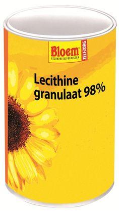 Bloem Natuurproducten Lecithine Granulaat 98%  400 gram - Lecithine granulaat 98% van Bloem bevat Lecithine dat gestandaardiseerd is op 98% fosfatiden. Twee bestanddelen van lecithine zijn fosfatidylcholine en fosfatidylserine. Deze laatste stof komt vooral voor in onze hersenen en bevordert dan ook de concentratie. Sporters kunnen de stof gebruiken om sneller te herstellen en hun concentratie scherp te houden.