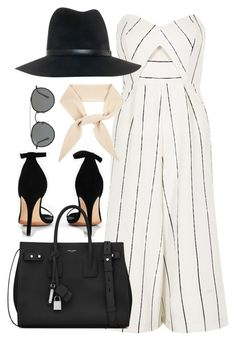 """Untitled #3149"" by theaverageauburn on Polyvore featuring River Island, Boohoo, Yves Saint Laurent, Chloé, Ray-Ban and rag & bone"