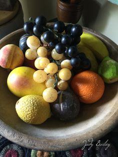 Stone fruit Fruits And Vegetables, Veggies, Fruit Love, Colonial Decorating, Stone Fruit, Primitives, Meal Prep, Prepping, Wax