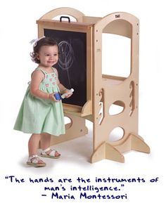 { learning tower }  I so want this for the girls!!!!