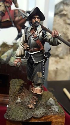 Conquistador, Military Figures, Military Art, Early Modern Period, Classical Antiquity, Landsknecht, Late Middle Ages, Medieval Armor, Miniature Figurines