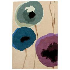 Buy Sanderson Poppies Rug Online at johnlewis.com