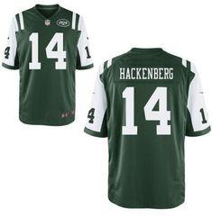 New York Jets #14 Christian Hackenberg Nike Green Elite 2016 Draft Pick Jersey