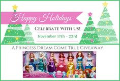 Disney Princess Doll Set Giveaway (7 Dolls, ARV $80)