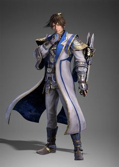 New character man Chong from dynasty warriors 9