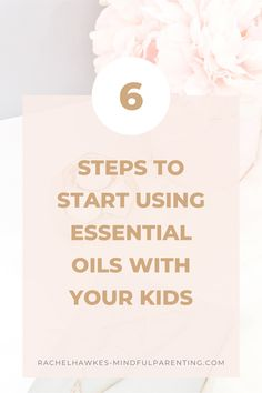 Adding in essential oils can have such an impact on your family's health and wellbeing. These are simple steps to start getting the kids involved.