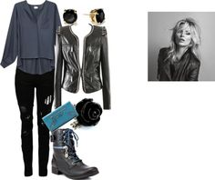 """Blue Steel"" by rikasfashionbox on Polyvore"