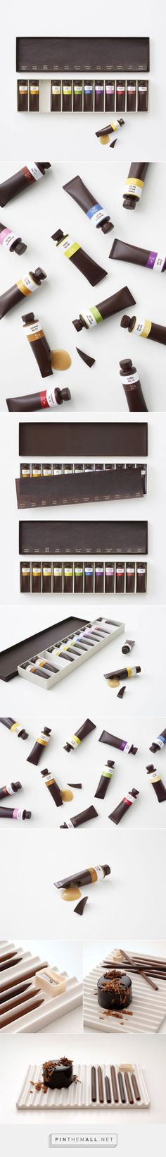 Edible Chocolate Paint Tubes by Nendo | Yatzer