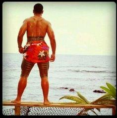 The Samoan Tatau or Pe'a .. Traditional Samoan Tattoo