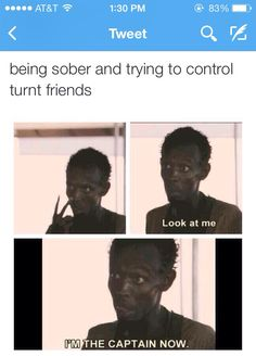 Being sober and trying to control turnt friends -- this is too accurate  #funny