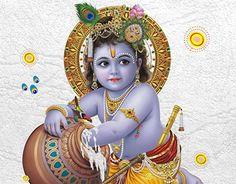 Krishna playing the part of Makhan Chor, the Butter Thief Baby Krishna, Little Krishna, Cute Krishna, Radha Krishna Photo, Radha Krishna Love, Krishna Krishna, Shiva Hindu, Hindu Art, Lord Krishna Wallpapers
