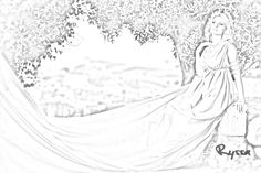 The Dark-Hunter Series' Ryssa (Sherrilyn Kenyon) Chronicles Of Nick, Sherrilyn Kenyon, Dark Hunter, Geek Out, Hunters, Book Series, Art Sketches, The Darkest, Tapestry