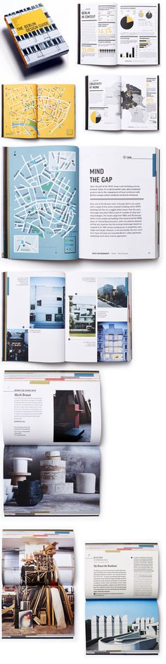 The Berlin Design Guide is the first of a series of travel books focused on arts and design in the world's most creative cities. It offers a behind the scenes look at Berlin's architecture, fashion, culture and cuisine, through maps, info-graphics, shop and studio profiles, and interviews with local designers.     Publisher Alphabet Press asked for a personal design with a user-friendly navigational system and structure that could be applied across the entire series.