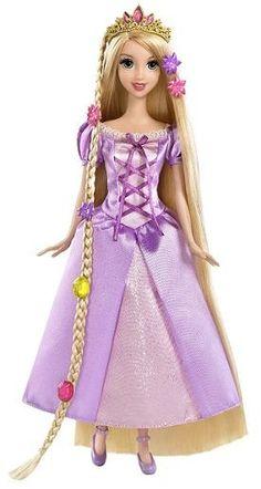 disney's rapunzel grow and style princess doll