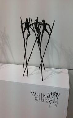"""Walkabilitys"": bronzen beeld van de Vlaamse kunstenaar Guy Buseyne. Cool Art Projects, Pottery Sculpture, Cecile, Art Impressions, African American Art, Pottery Making, Wire Art, Stone Art, Great Artists"