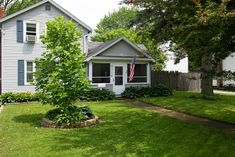 Great 3 bedroom with a large yard.  2 Car detached Garage 20x18. Enjoy grilling and eating outside on the back deck, or bug free in the screened front porch.  Basement is under most of the house with crawl under dining and kitchen. Hardwood floors throughout.  Blocks from from River, trails, downtown Batavia, and several parks.  Not a short sale or Foreclosure Hardwood Floors, Flooring, Back Deck, Detached Garage, Front Porch, Parks, Basement, Grilling, Trail