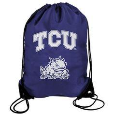 TCU Horned Frogs Drawstring Backpack