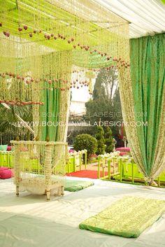 Sikh wedding decor !