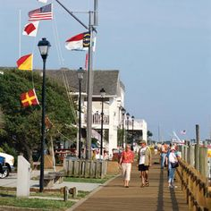 Stroll and soak up the sun in OBX via SouthernLiving.com