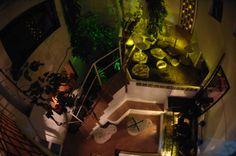 Tropical Room at Enfrente Arte Hotel Ronda, Spain