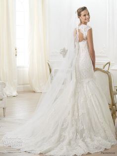 Letha by Pronovias Costura Collection 2014.
