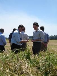 Fergus & local barley farmers