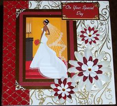 Hand Crafted Cards By Jennifer Kirk Creative People, Hobbies And Crafts, I Card, Awakening, Sculptures, Card Making, Illustration, Handmade, Wedding