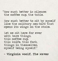 Virginia Wolf, The Waves