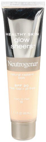Neutrogena Healthy Skin Glow Sheers, SPF 30, Ivory to Fair 10, 1.1 Ounce Neutrogena http://www.amazon.com/dp/B0017OLMUK/ref=cm_sw_r_pi_dp_4HTQtb1QFCE1P59P