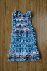 Crochet to Go: Striped Dress