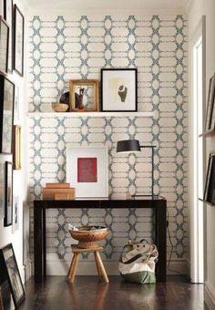 elizabeth peacock on shimmer - wallpaper gallery - modern original bold patterns
