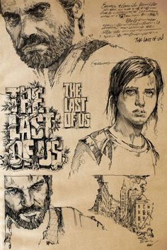 The Last of Us Sketchbook Concepts by Mike Butkus
