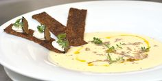 Supa crema de conopida cu trufe sub semnatura Chef Nico Lontras la Hotel Simfonia ****