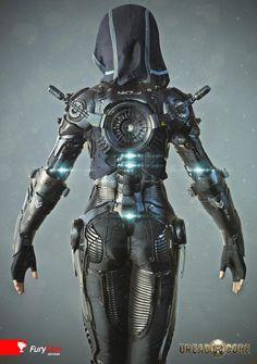 Exoskeleton suit - Галерея 3ddd.ru