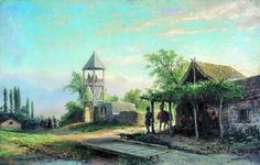 #paintings #museum #russian #painter #lev #feliksovich #lagorio