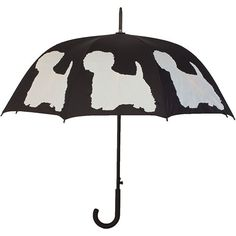 West Highland White Terrier Stick Umbrella