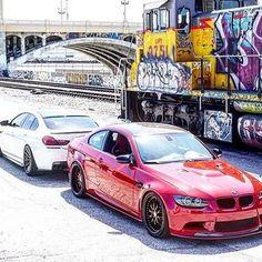 The ///M-eeting. Nice! #lowtioner #bmw #m6 #m3 Photo by @m6_pete #m6grancoupe #beastmode #bro #supercars #white #red #train #brothers #motivation #goal #bmw_m_nation #mpower #bmwlife #düsseldorf #neuss #bmwsyndikat #hamburg #köln #münchen #frankfurt #leipzig #losangeles #hollywood #monaco #carporn