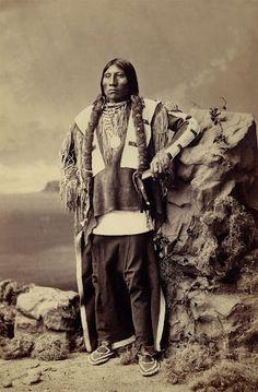 Arapaho man - circa 1877