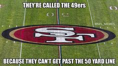 Called 49ers can't get past 50