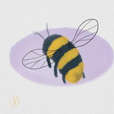 "Iris Stam's Instagram post: ""🐝 #makingarteveryday #mae2020 #makingarteveryday2020 #drawingdaily #draweveryday #drawingeverydaychallenge #365daysofdrawing #digitalart…"" Bee Illustration, Illustrations, Bees, Watercolor Paintings, Digital Art, Natural, Drawings, Instagram Posts, Animals"