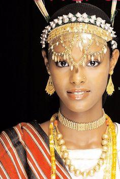 Traditional Djibouti woman