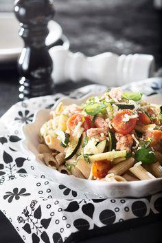 Kirjolohi-tomaattipasta | Kalaruoat | Pirkka